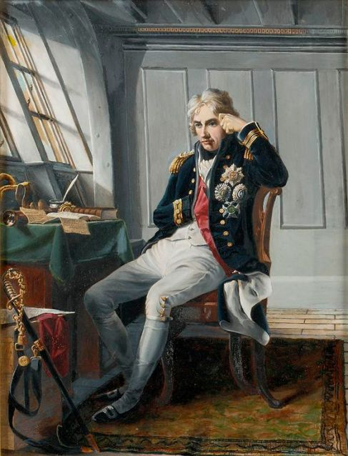 Amiral Nelson juste avant son coup de Trafalgar