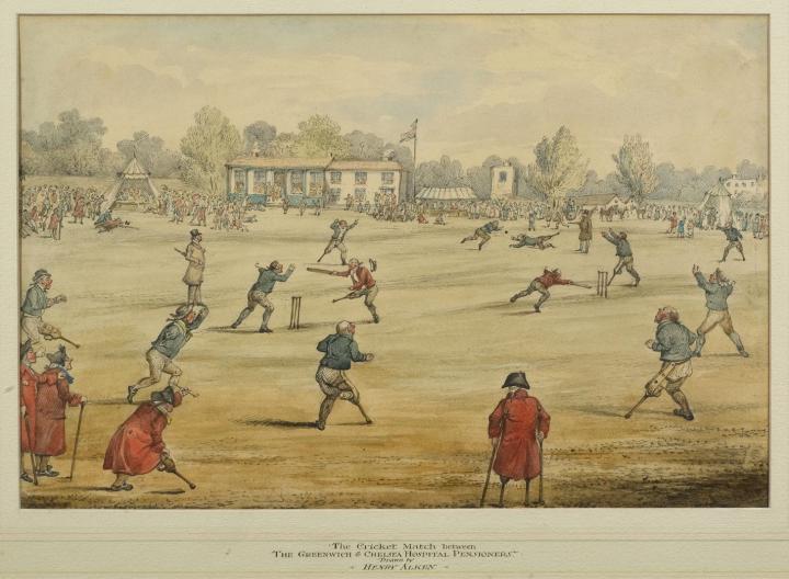 Un match entre unijambistes et manchots de Greenwich