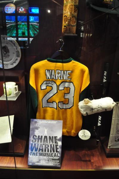 La légende Shane Warne