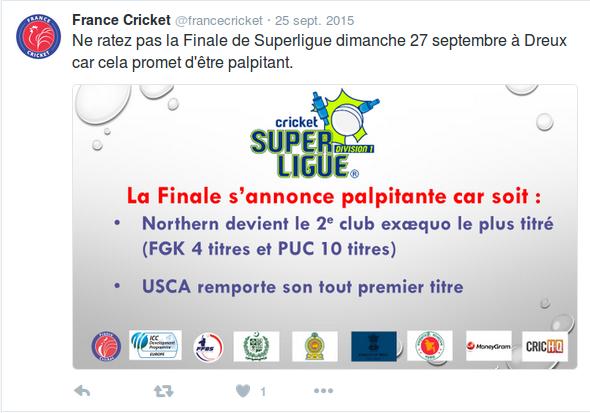 France Cricket a entamé récemment un vrai travail de communication. On part quand même de loin et cela manque de relais.