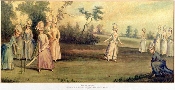 Les femmes jouent au cricket depuis le 18ème siècle.