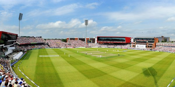 Le magnifique terrain de cricket d'Old Trafford n'a rien à envier à son voisin du football - Copyright Paul Heyes Photography Limited. Emitates Old Trafford, Manchester. Day One of the Third Investec Ashes Series, England v Australia. Picture by Paul Heyes, Thursday August 01, 2013.